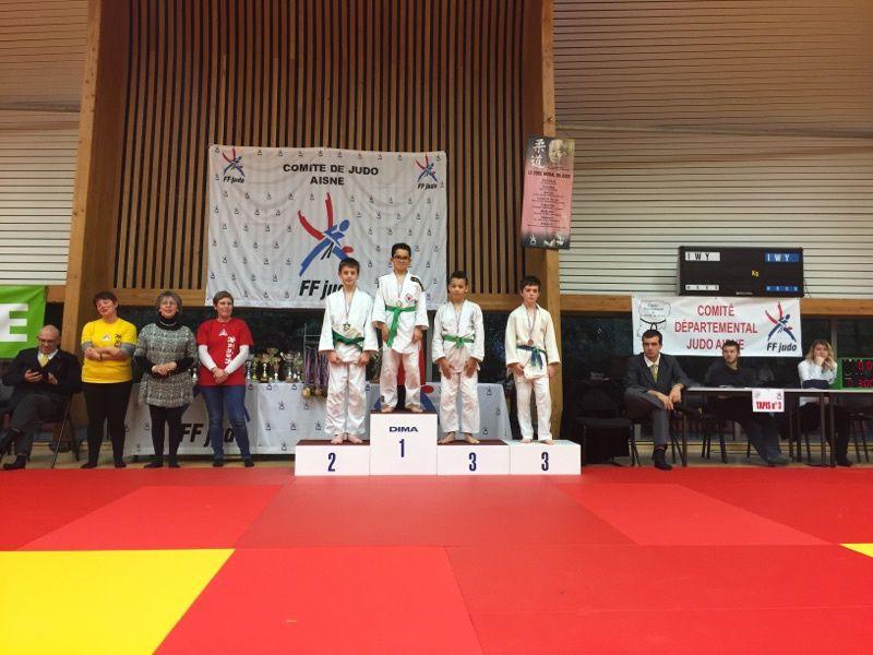 18ème challenge de l'ESC Tergnier Judo les 17 et 18/12/16