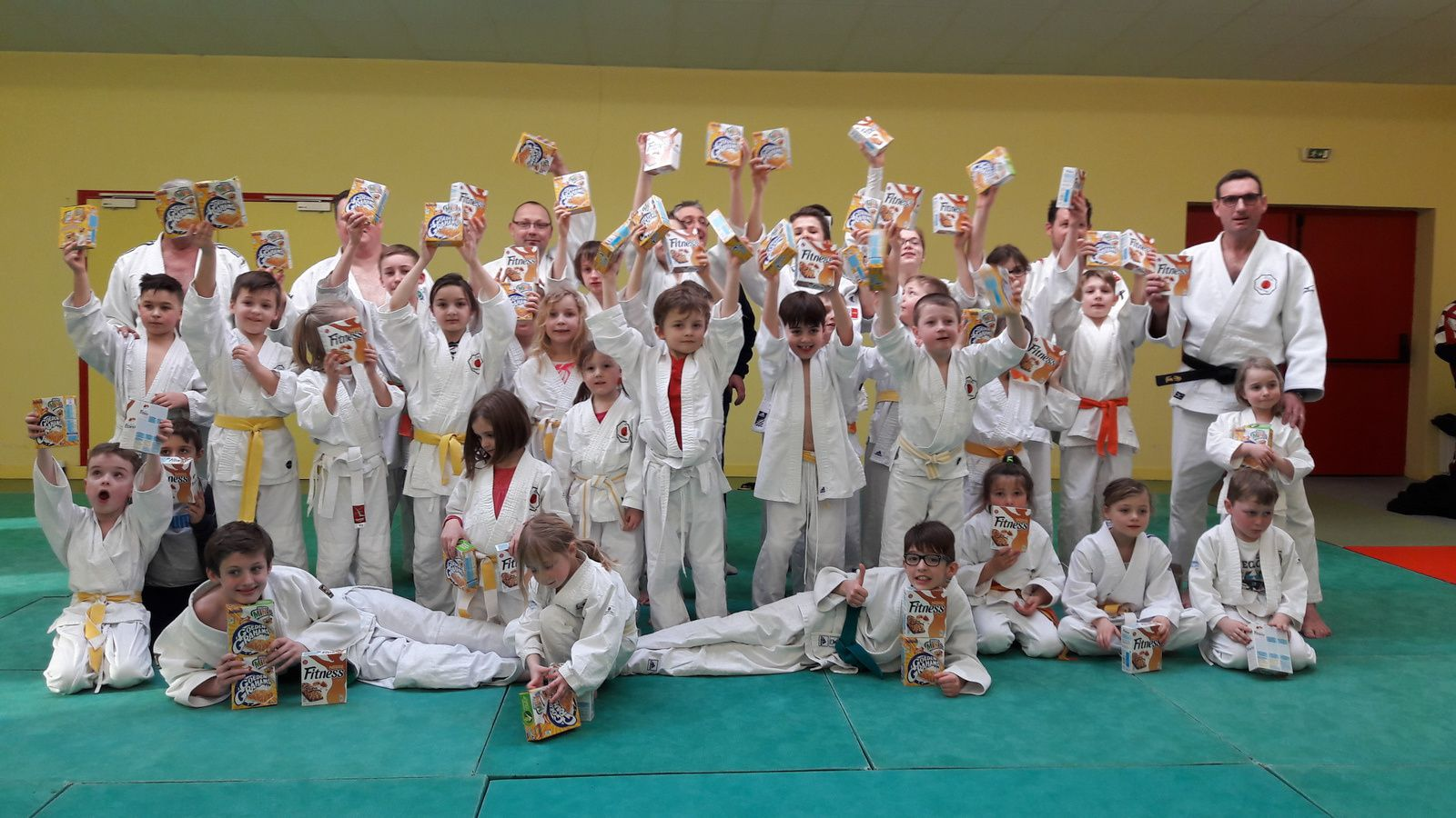 Stage Judo Itancourt / Holnon à ITANCOURT le 15/02/17