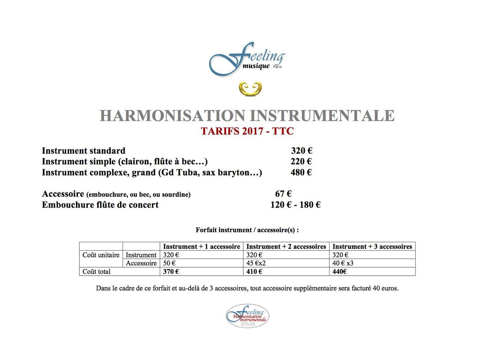 HARMONISATION FEELING : l'étonnante transformation des instruments à vent