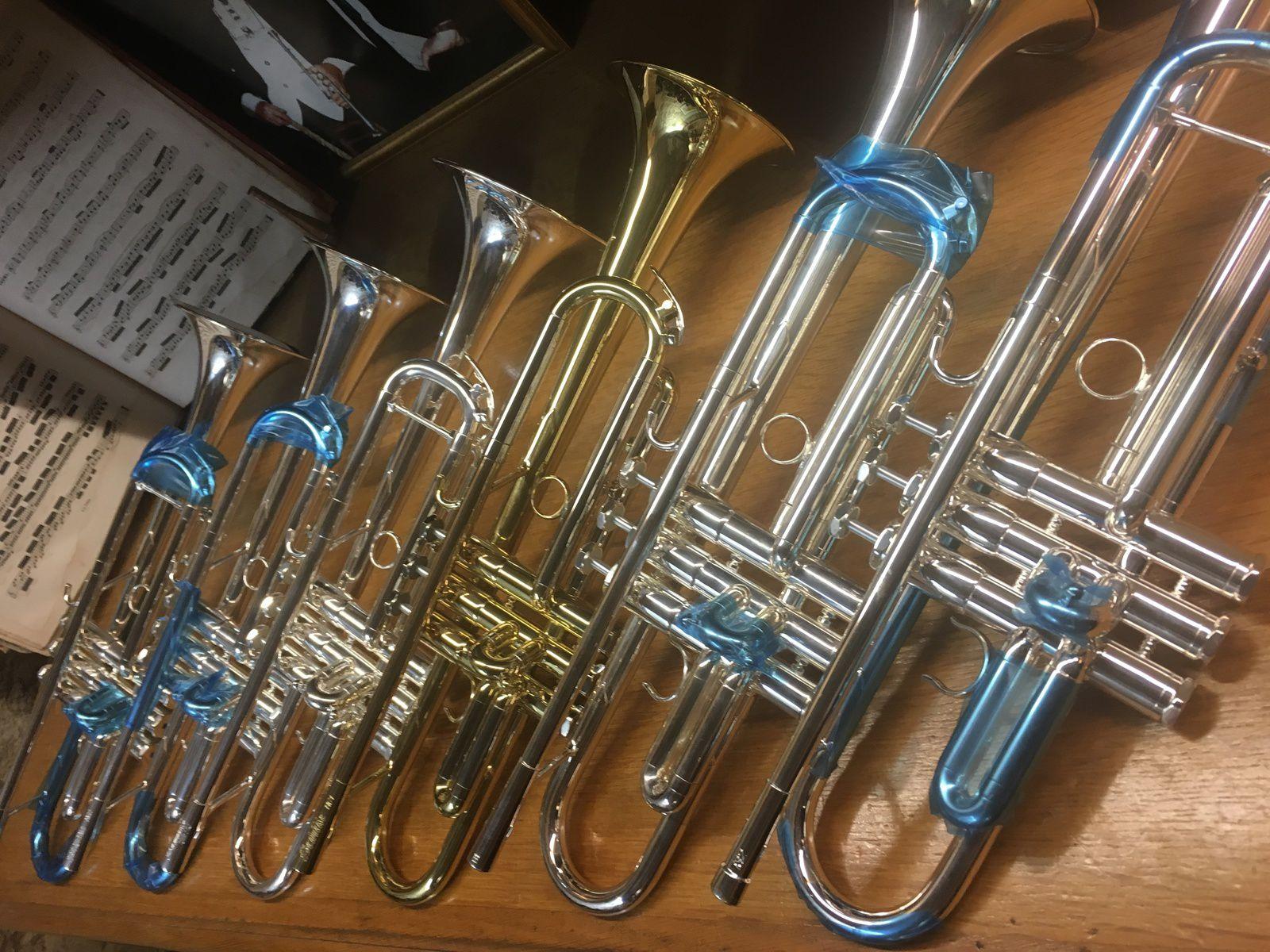 Fluides, épurées, incroyablement faciles et expressives : trompettes Schilke
