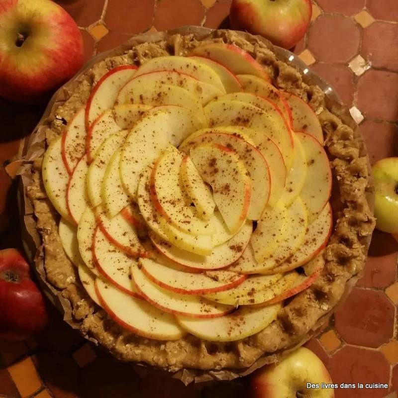 Prête à cuire, une jolie fleur de pomme