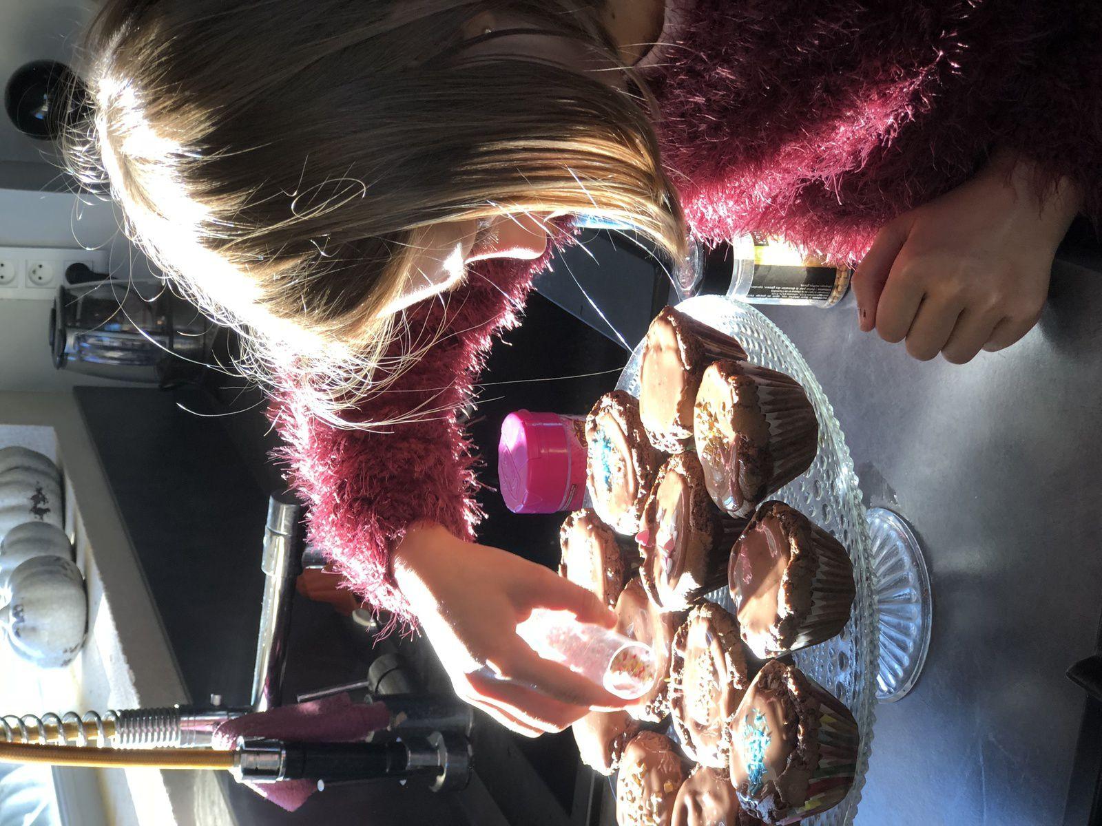 Les Ateliers de Sam - Sabine Bolzan - Cupcakes au chocolat