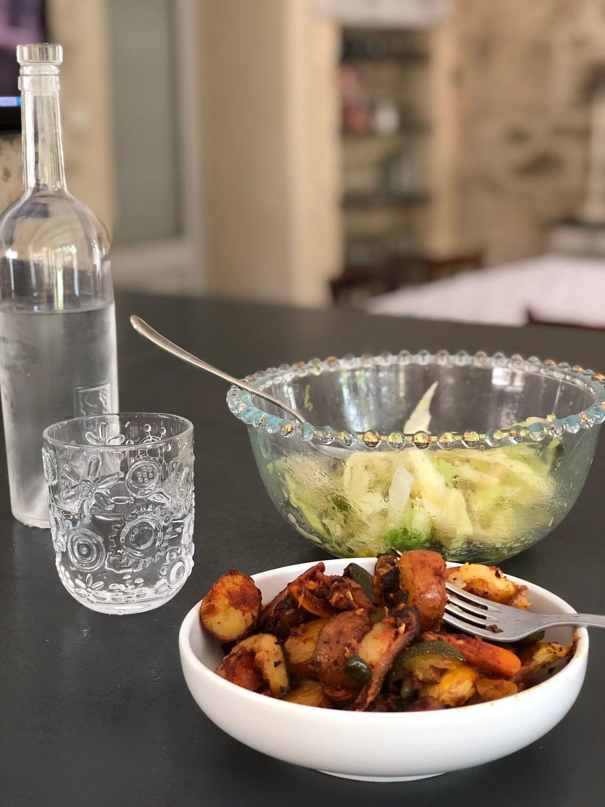 Sabine Bolzan, Les Ateliers de Sam, recettes végétariennes, recettes salées, légumes cuits au four comme un tajine