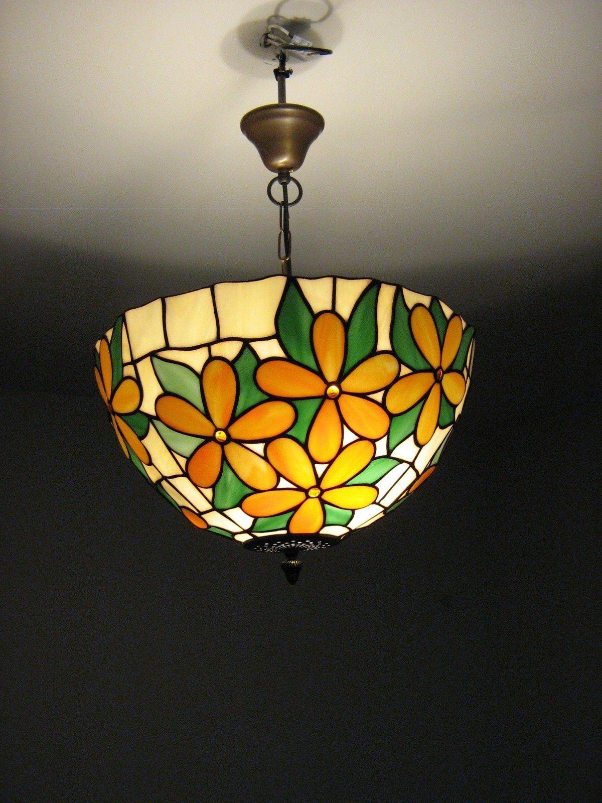 Réalisation d'un lustre Tiffany