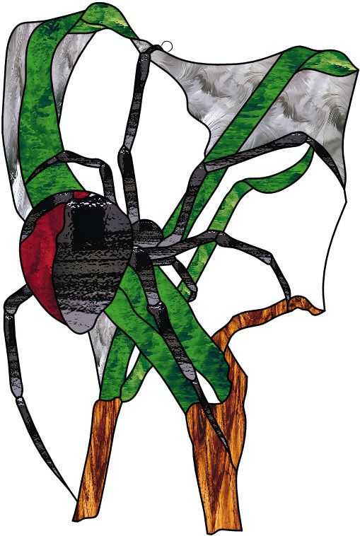 Vitrail ' Araignée '