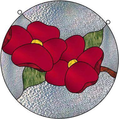 Vitrail ' Fleurs '