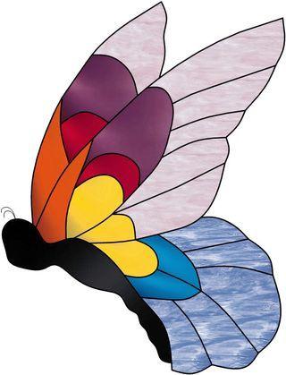 Vitrail ' Papillon '