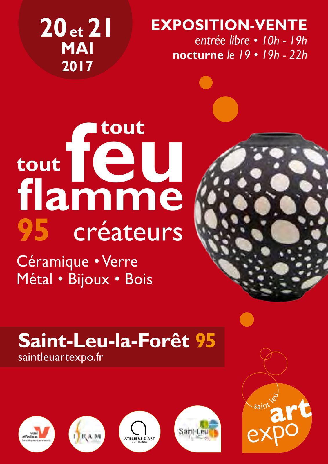 Saint-Leu-La-Forêt, tout feu, tout flamme, les 19, 20 et 21 mai 2017