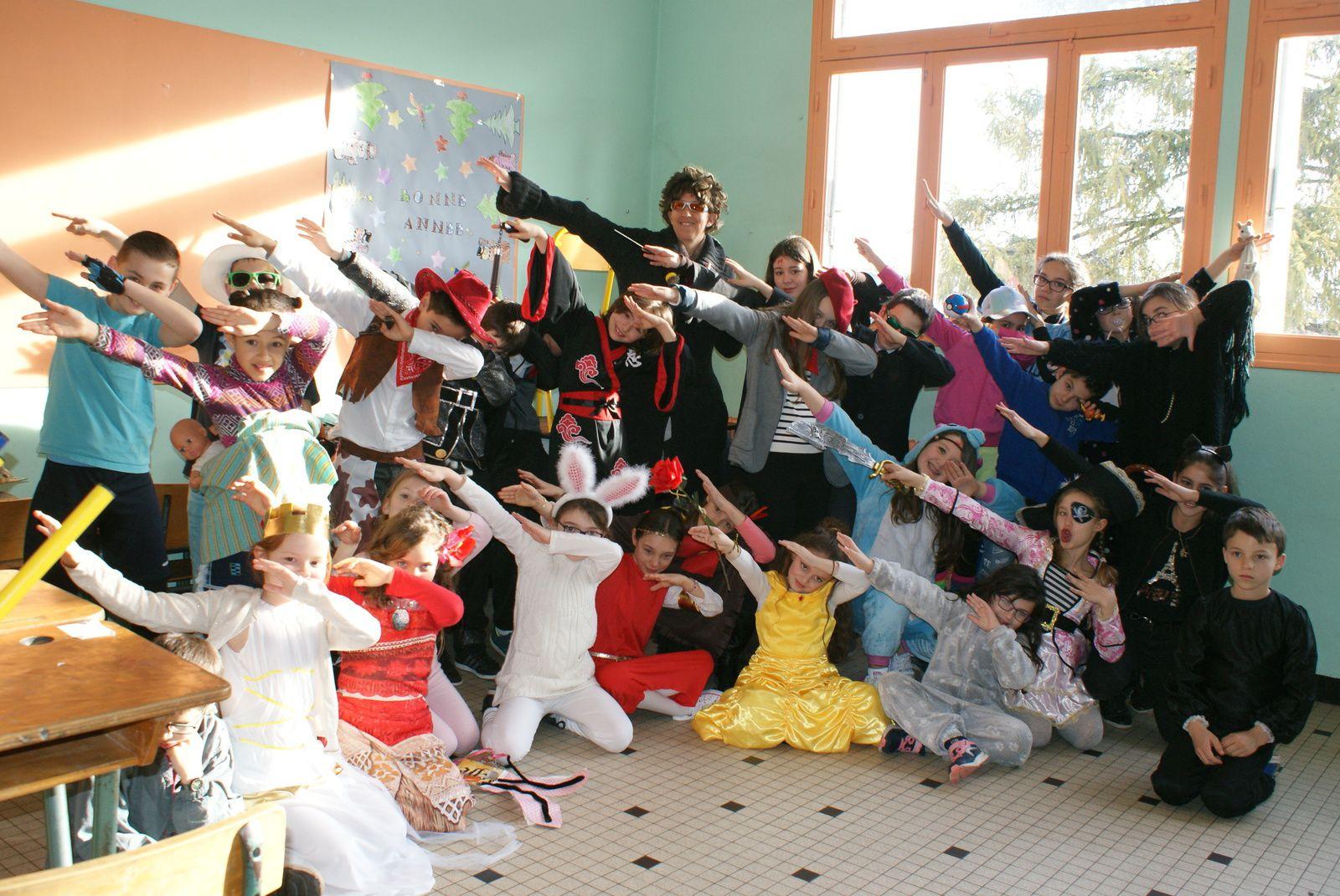 Un joyeux carnaval à l'annexe de Ste Catherine à St Sylvestre !