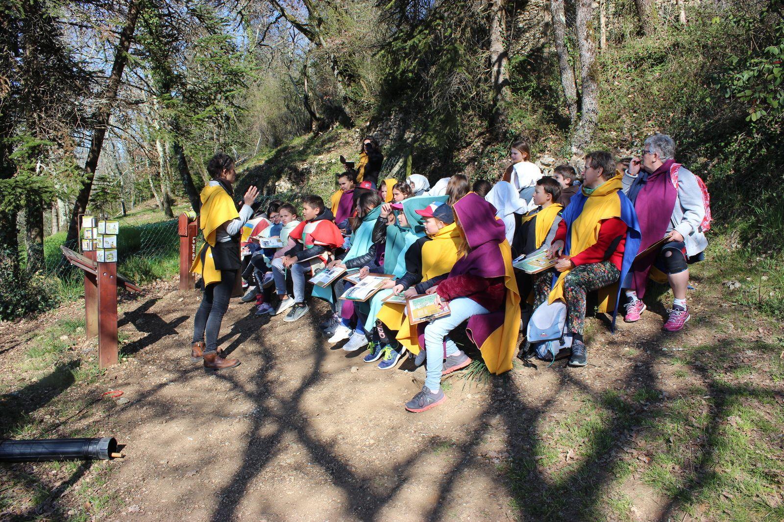 Une semaine de classe verte en Dordogne pour la classe de Mme Dufour du Site de St Sylvestre