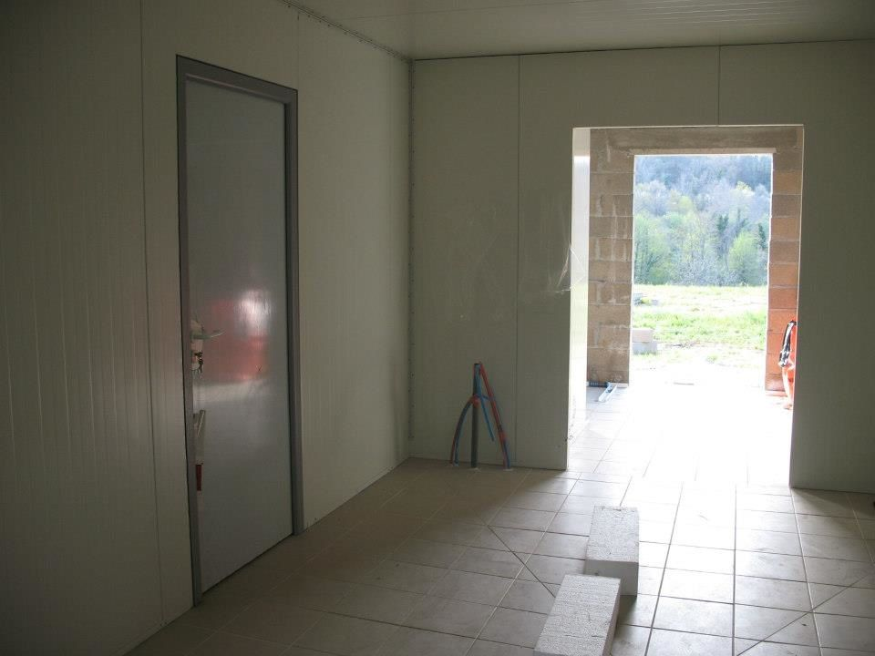 Chambre froide pour Fromagerie