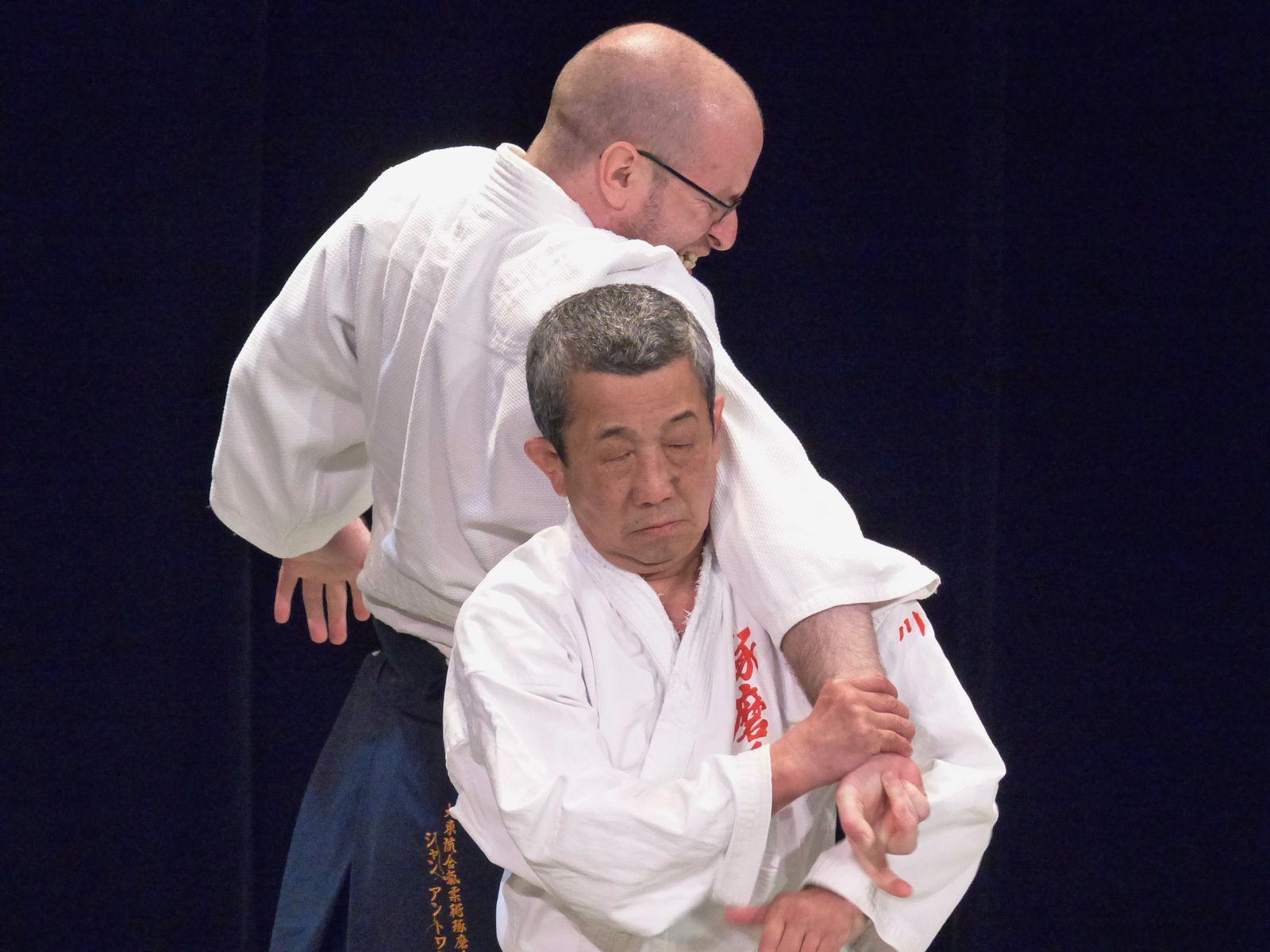 Takeshi Kawabe (Daito Ryu Takumakaï)