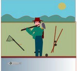 Le pêcheur et les batbeaux