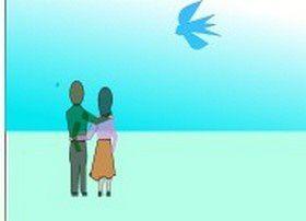 Petut oiseau  bleu