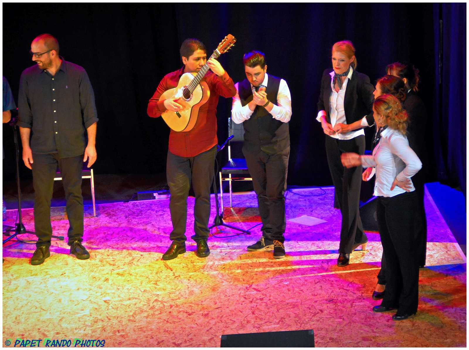 Du vrai Famenco,  ( groupe de Marcinelle) vu le Flamenco dans de nombreux pays  juste un mot MERCI pour la belle soirée)