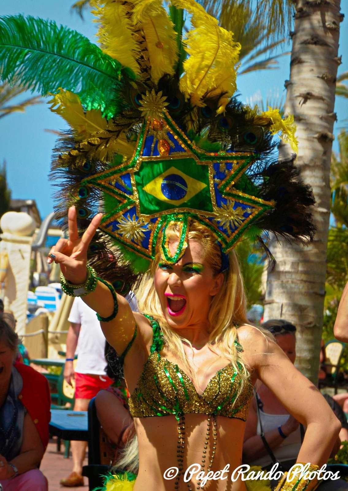 Le charme du Bresil, ( sur plusieurs années,  a  Tenerife, + sur nombreux carnavals)
