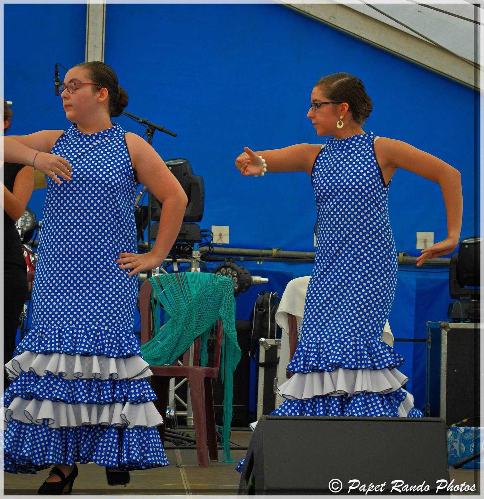1e partie a la Feria de Gilly  15e edition ( sous le soleil) spectacle Las Estrellas Andaluzas de Marcinelle,