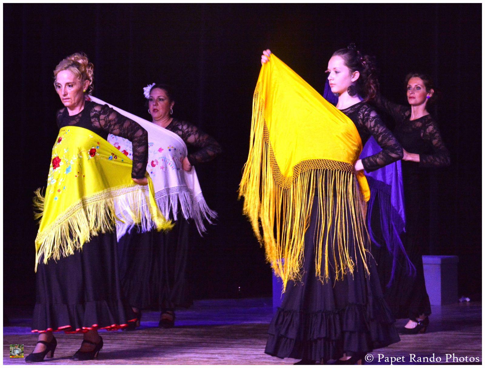 Groupe de Flamenco, ( photos lors de leur souper Spectacle dans la belle salle de la Ruche Verriere Lodelinsart ( vraiment une bells soirée)