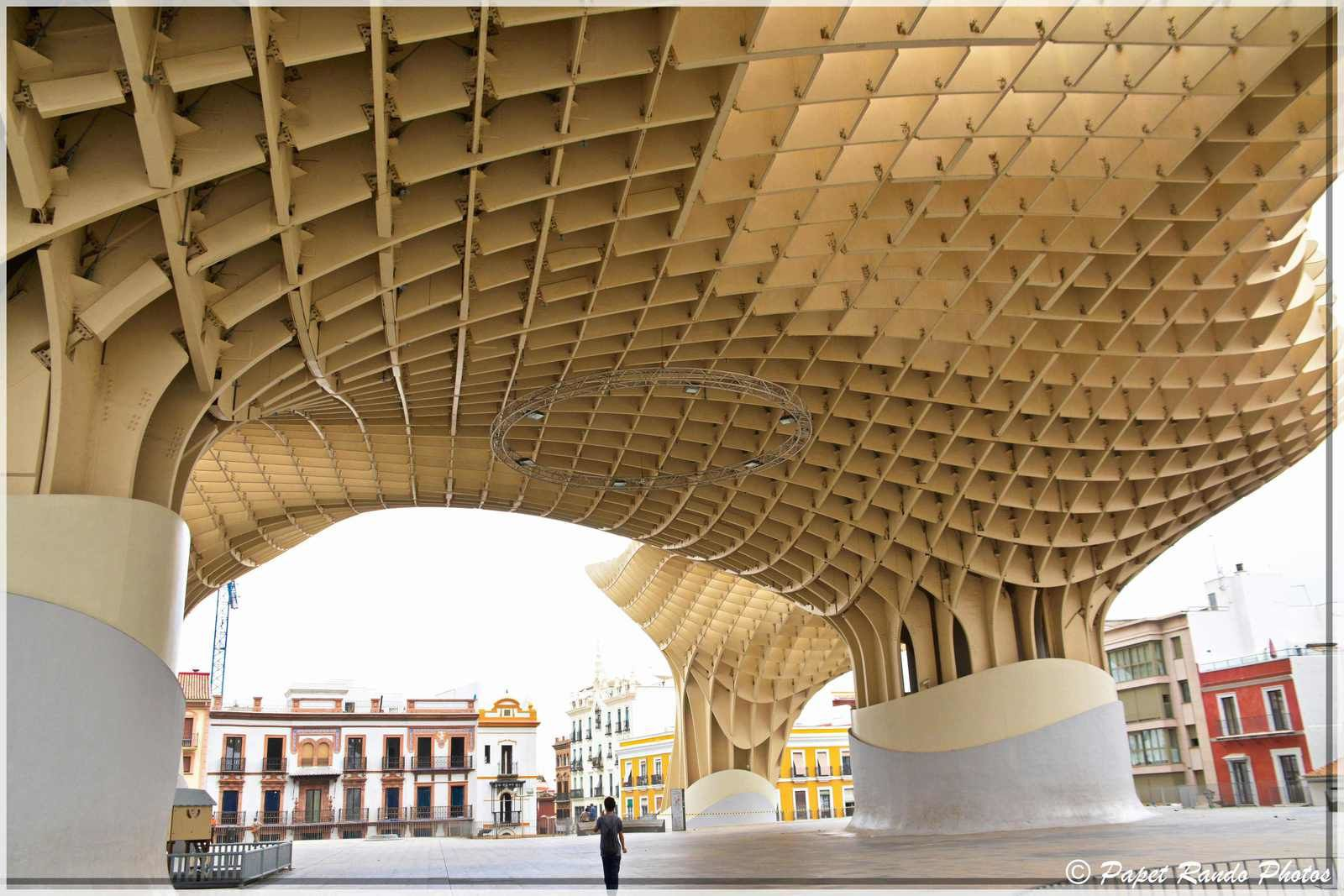 La Cathedrale de Sevilla,inaugurée en 1182 devenue gothique, aussi la plus grande, avec des parties de l'ancienne mosquée, ensuite photos dans la ville