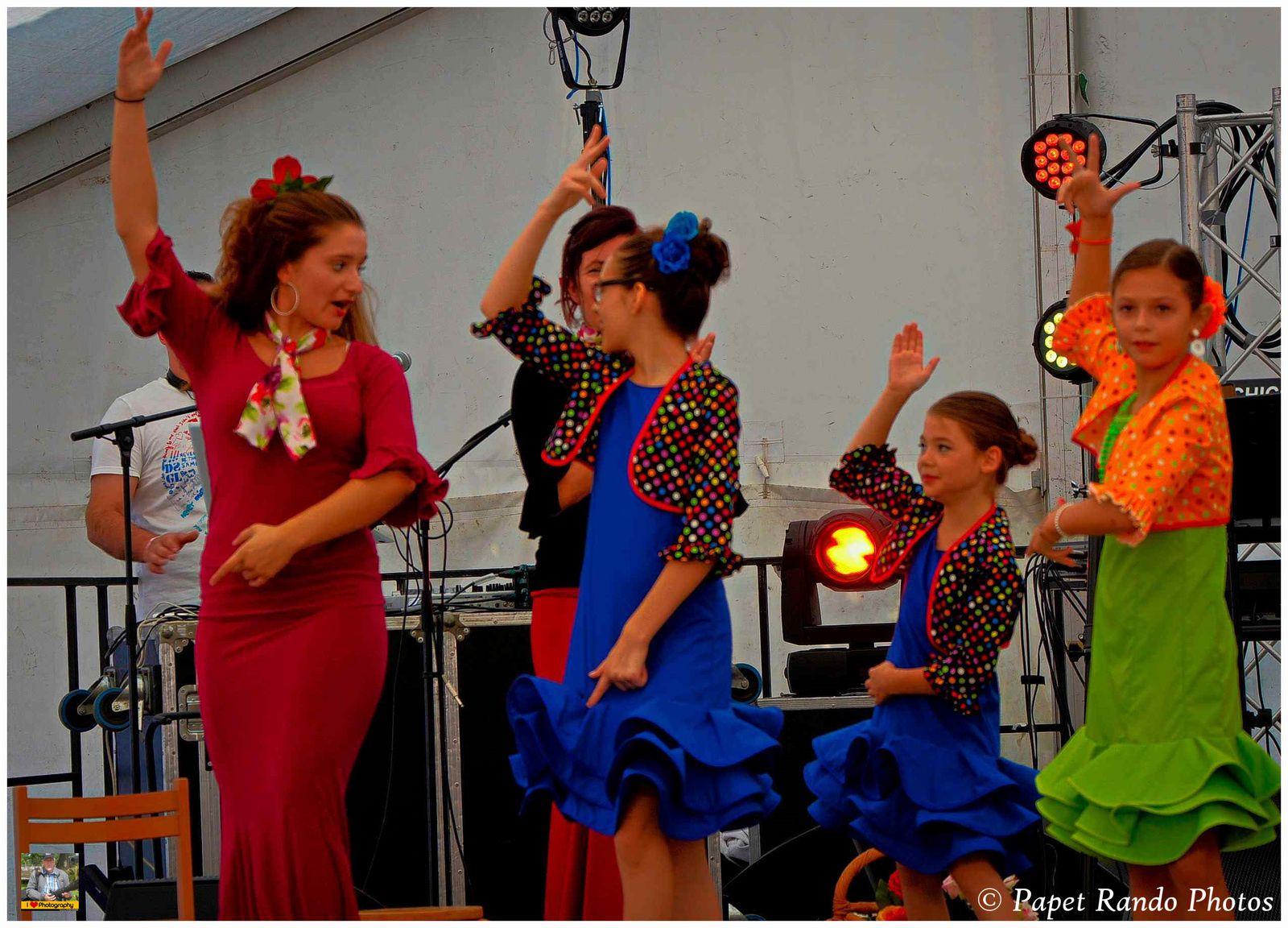 Le Groupe Las Estrellas Andaluzas, a la Feria de Gilly en 2015