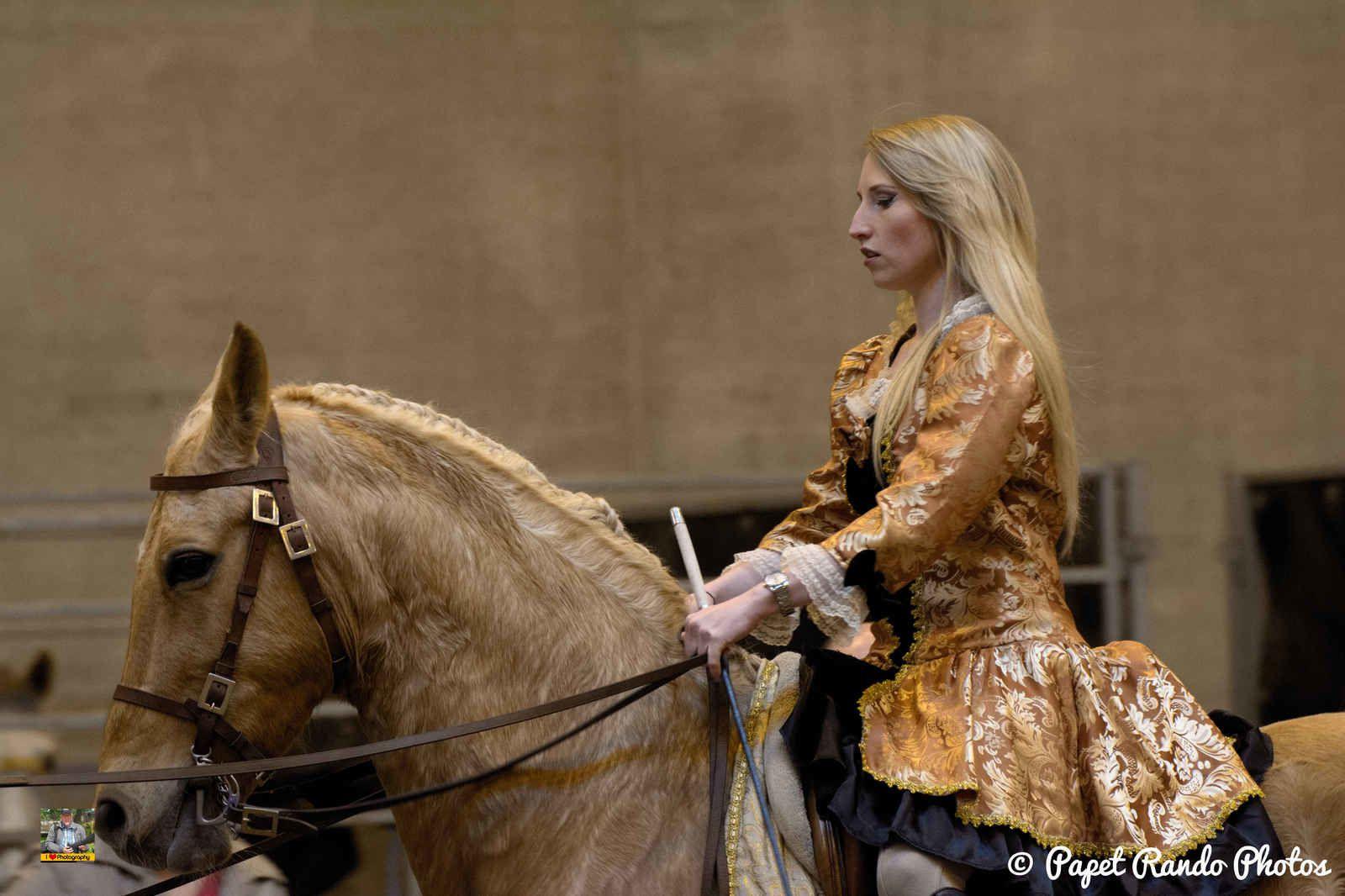 Toujours un plaisir les photos, au Salon du Cheval de Mons