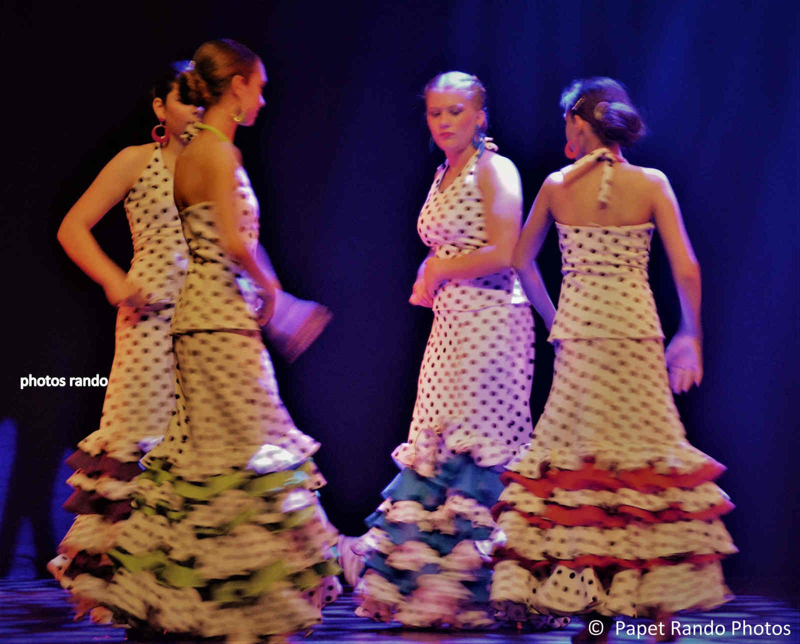 Spectacle de fin d'année de l'Ecole de Flamenco Aire Nuevo.