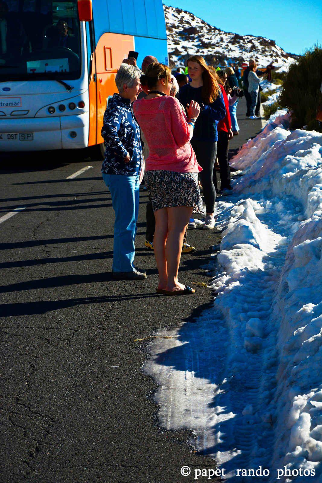 15 ans de randos sur le Teide ( 2004 la premiere) en janvier,fevrier,mars, avec quelques fois beaucoup de neige