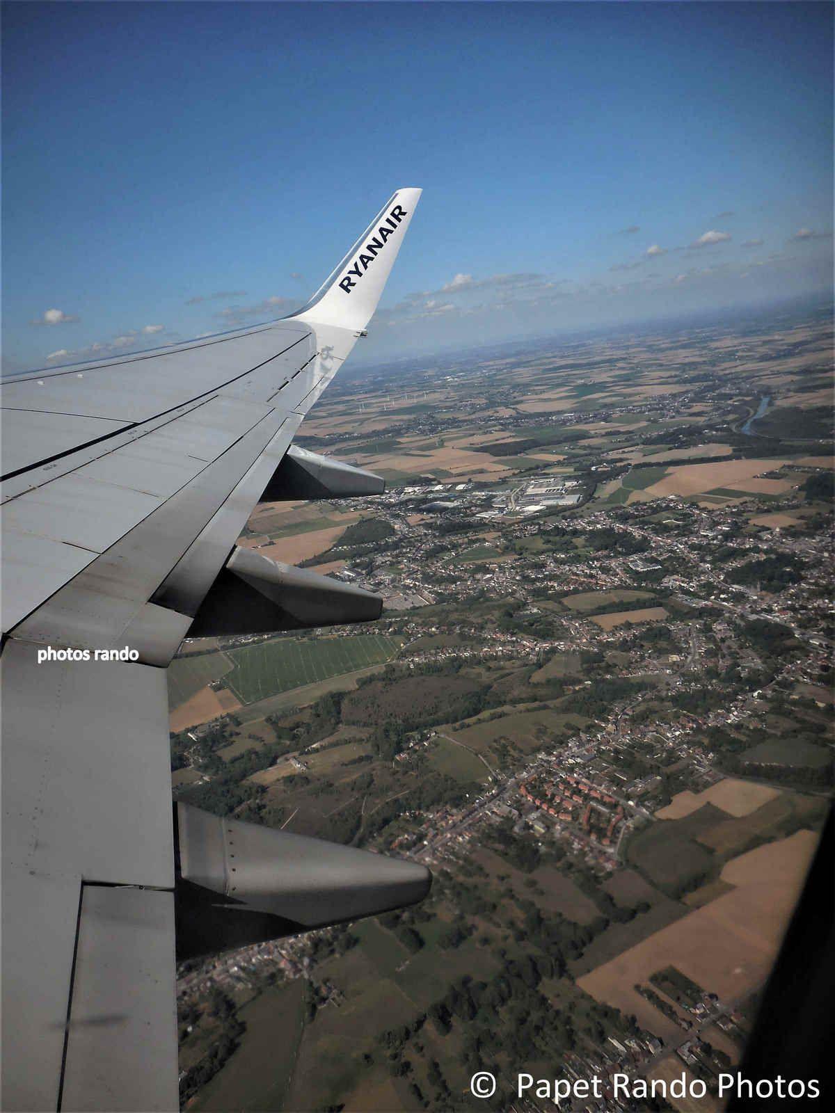 Mon coin vu du ciel, Heppignies ( mon village jusqu'a mes 20 ans ) , Ransart ( Raspes), Jumet, Luttre,  etc