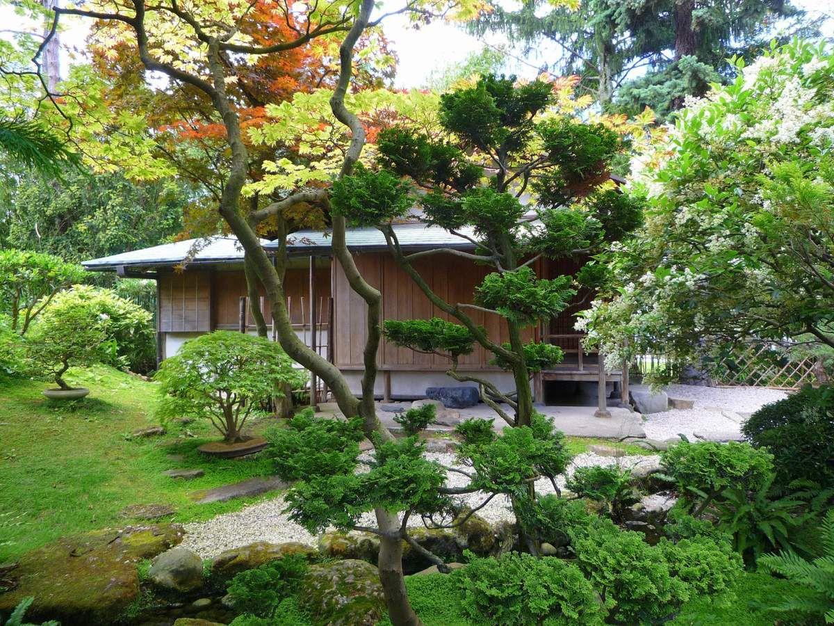 Le jardin japonais traditionnel (images personnelles juillet 2012)