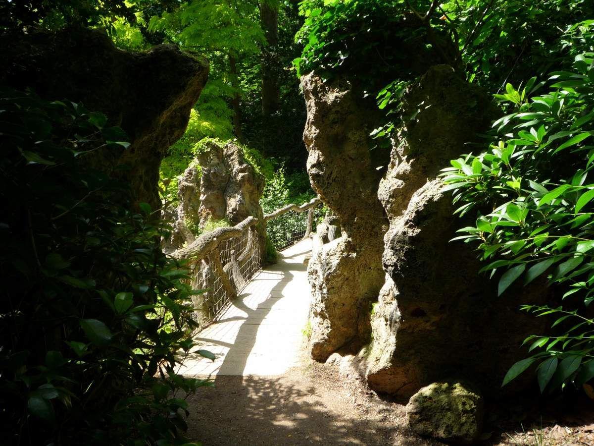 Le jardin anglais (images personnelles, juillet 2012)