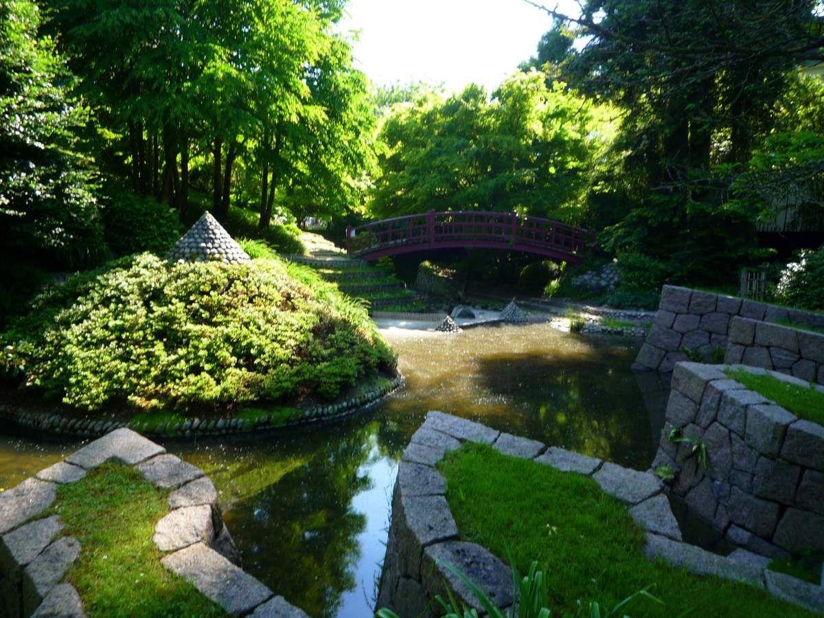Le jardin japonais contemporain (images personnelles, juillet 2012)