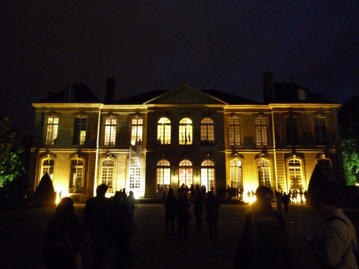 Le musée Rodin, de l'ombre à la lumière (images personnelles, mai 2012 et mars 2014)