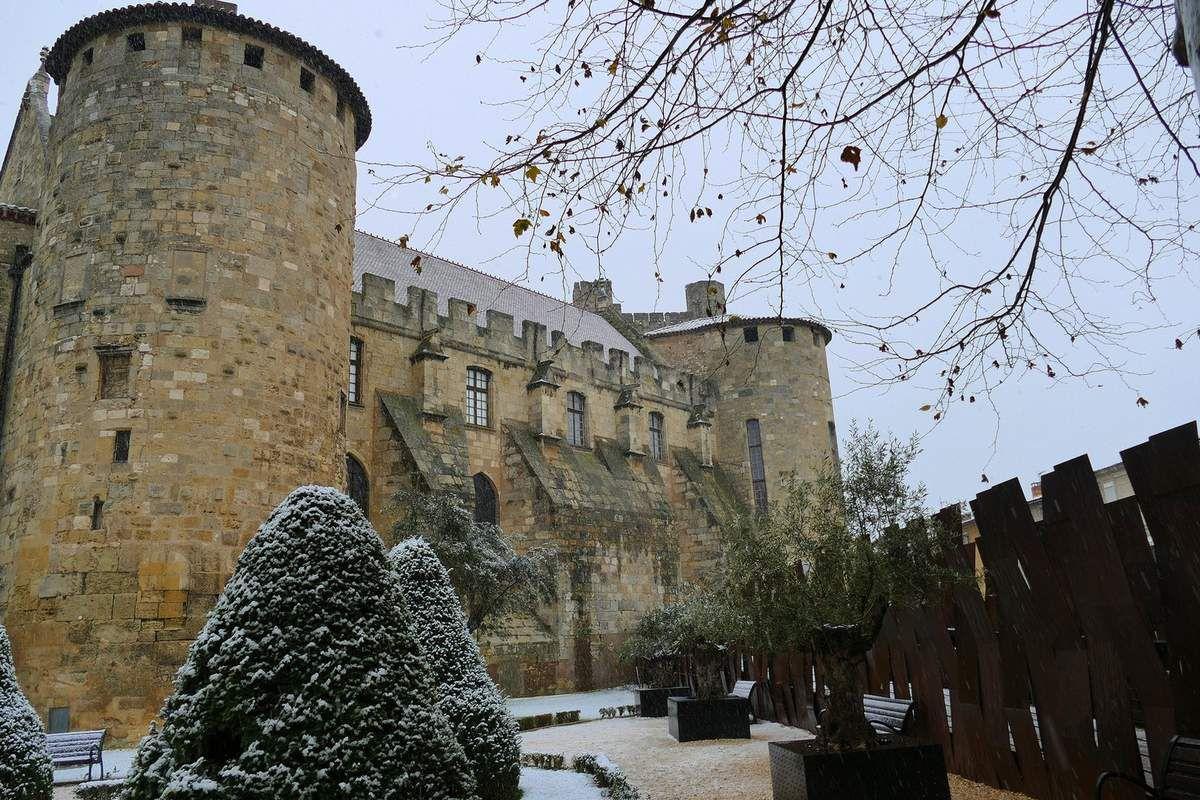 Le jardin de l'archevêché (janvier 2016, images personnelles)