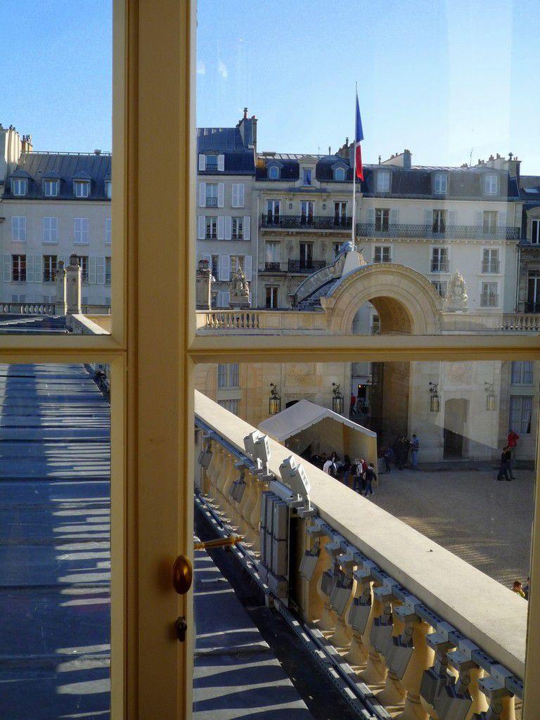 Derniers coups d'oeil au Palais de l'Elysée (septembre 2012, images personnelles)