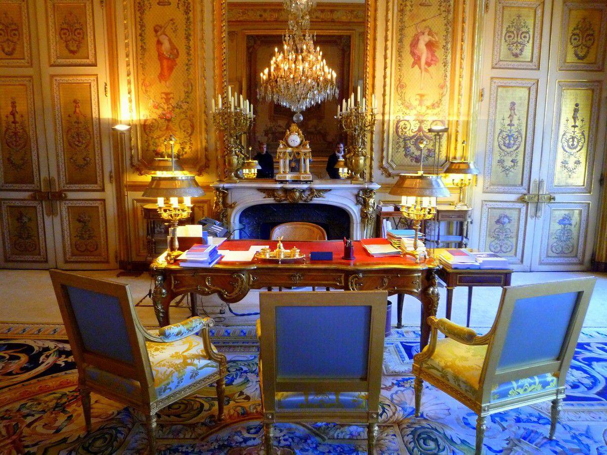Point d'orgue de la visite, le bureau du président ! (septembre 2012, images personnelles)