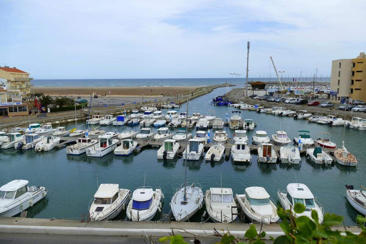 Le port de plaisance de Narbonne plage (avril 2016, images personnelles)
