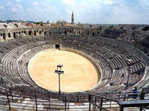 Galerie photo des arènes de Nîmes (avril 2011, images personnelles)
