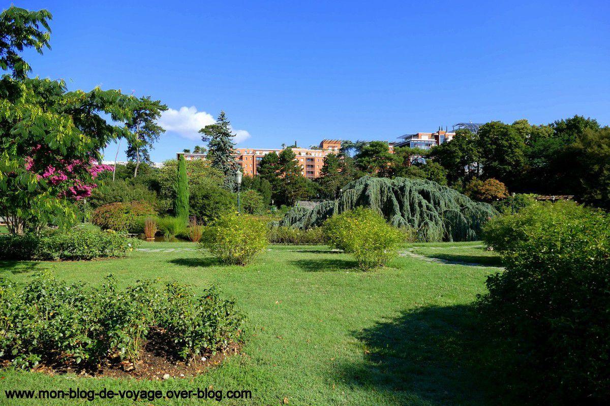 Quelques instantanés des vastes pelouses du parc de la Tête d'Or (août 2018, images personnelles)