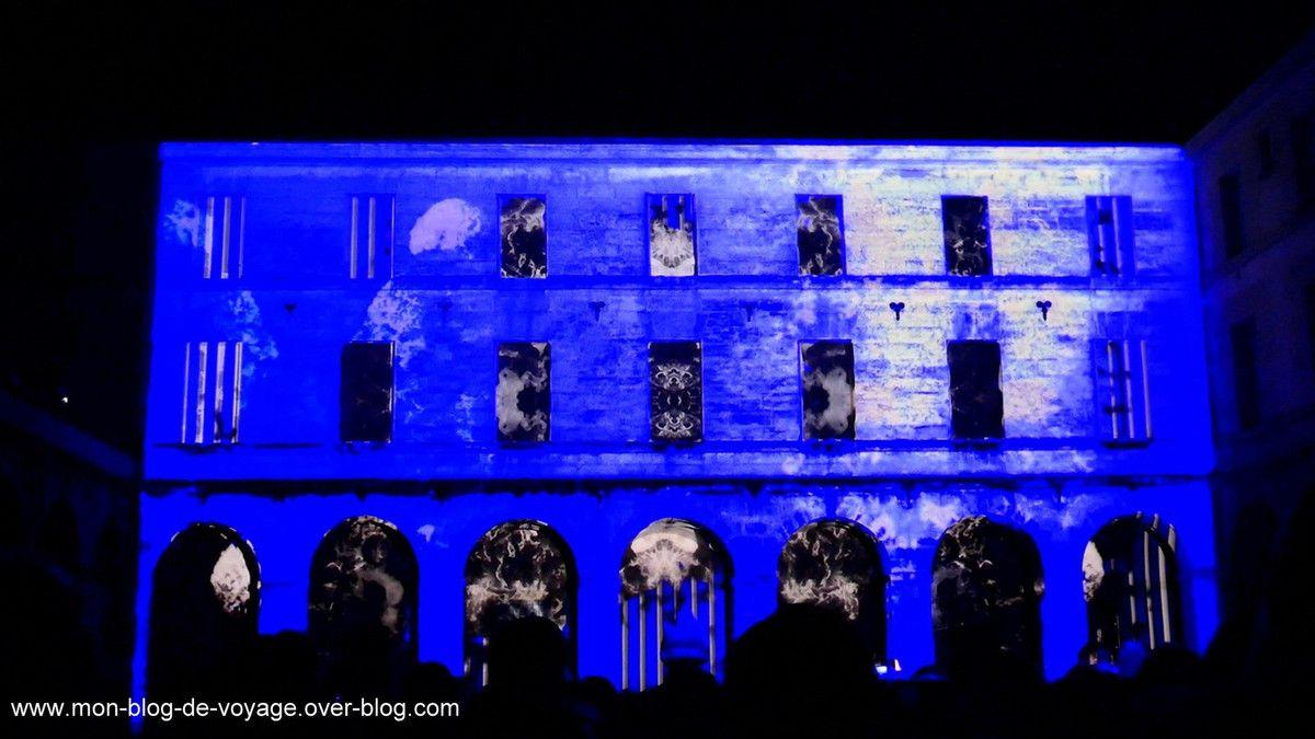 Igni, le spectacle conçu par ESMA Montpellier (décembre 2018, images personelles)