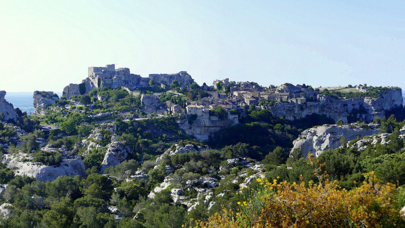 Paysage et panorama exceptionnel sur la Provence (mai 2018, images personnelles)