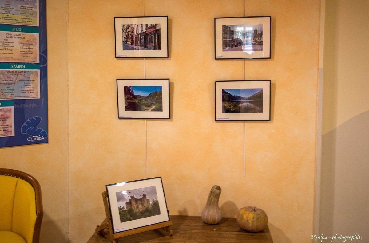 """Exposition , """" Paysages d'Irlande """""""