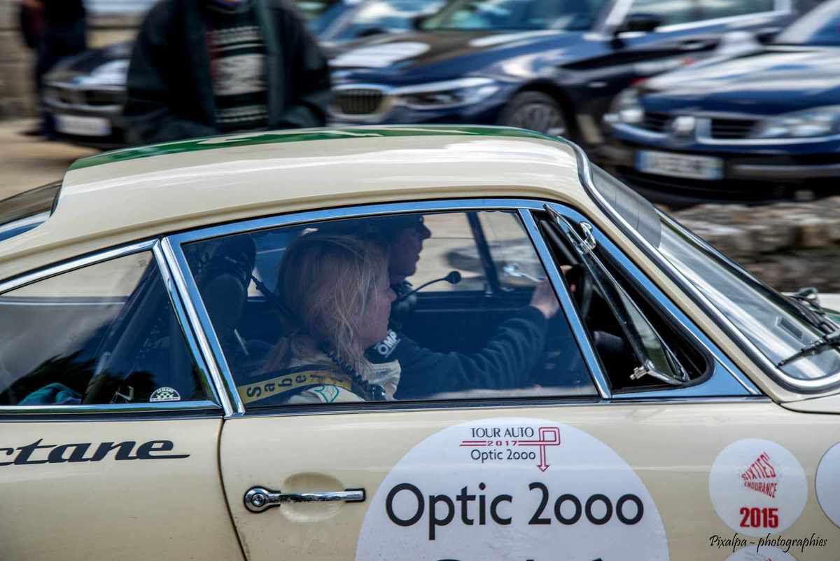Tour Optic 2000 , édition 2017 , Abbaye Royale de Celles sur Belle.....