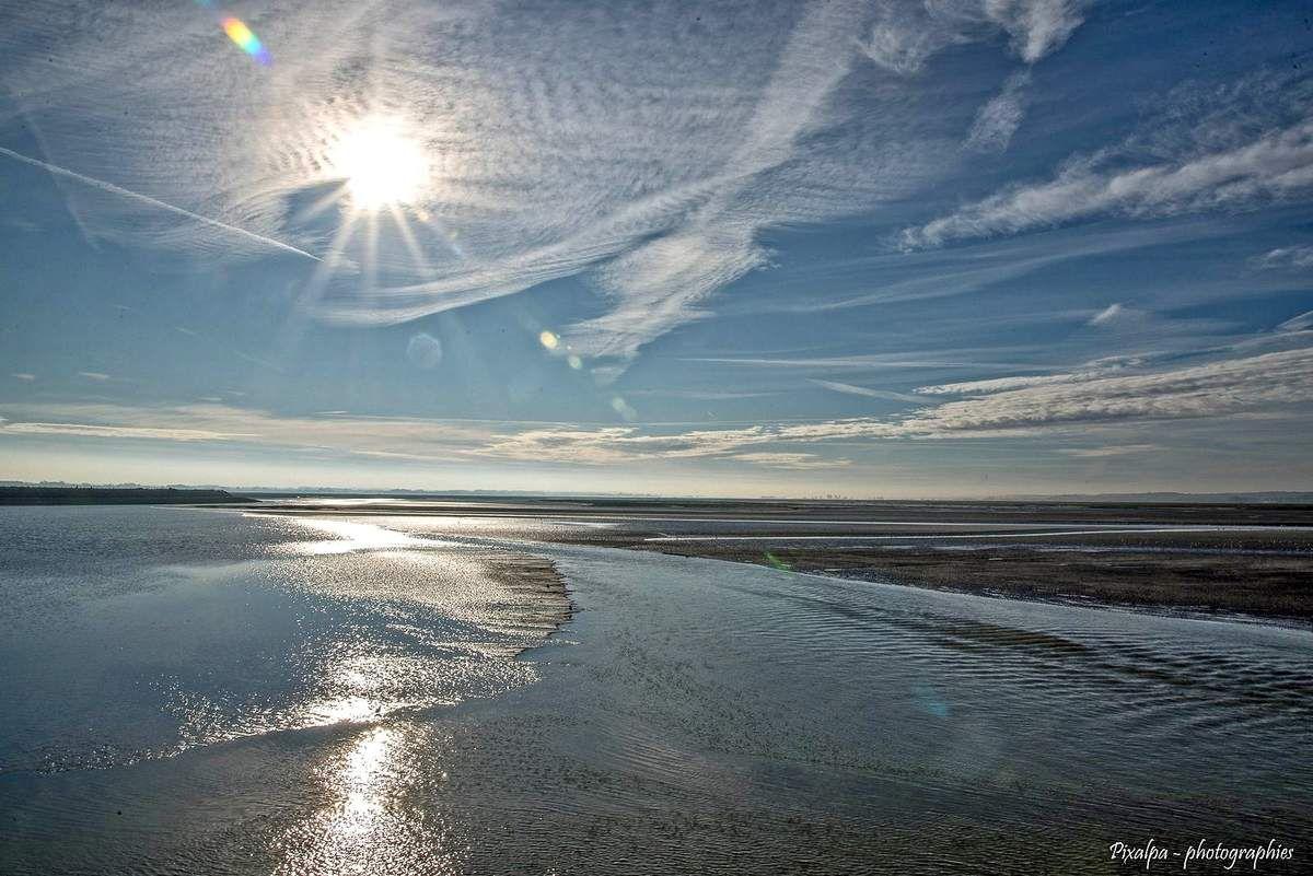 Le Crotoy dans la baie de Somme ...