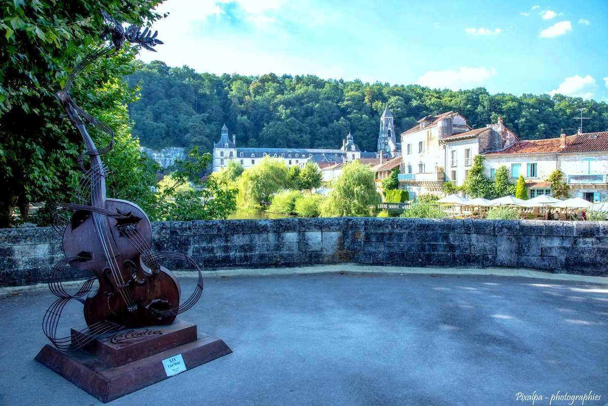 Week-end dans le Périgord du côté de Brantôme ...