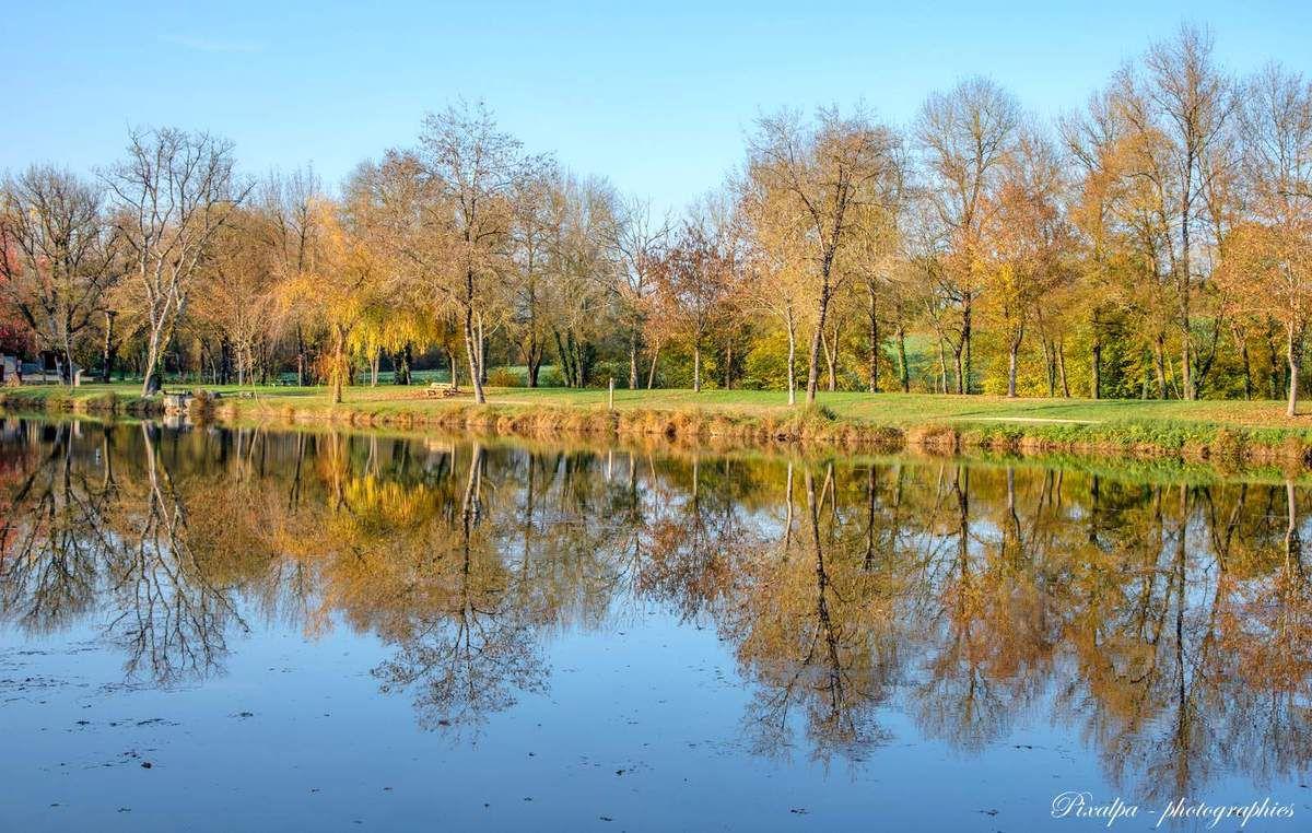 Reflets et couleurs d'automne dans le civraisien ...