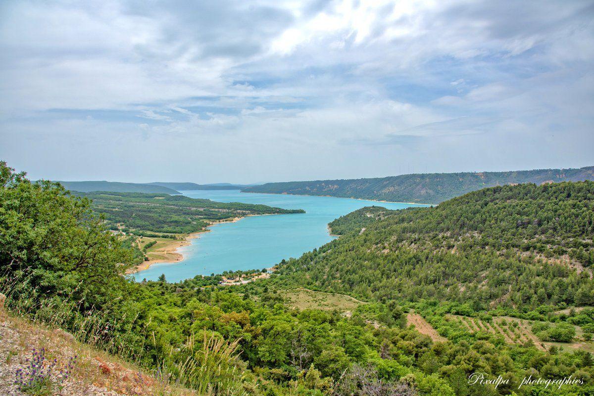Les Gorges du Verdon et le lac St Croix ...
