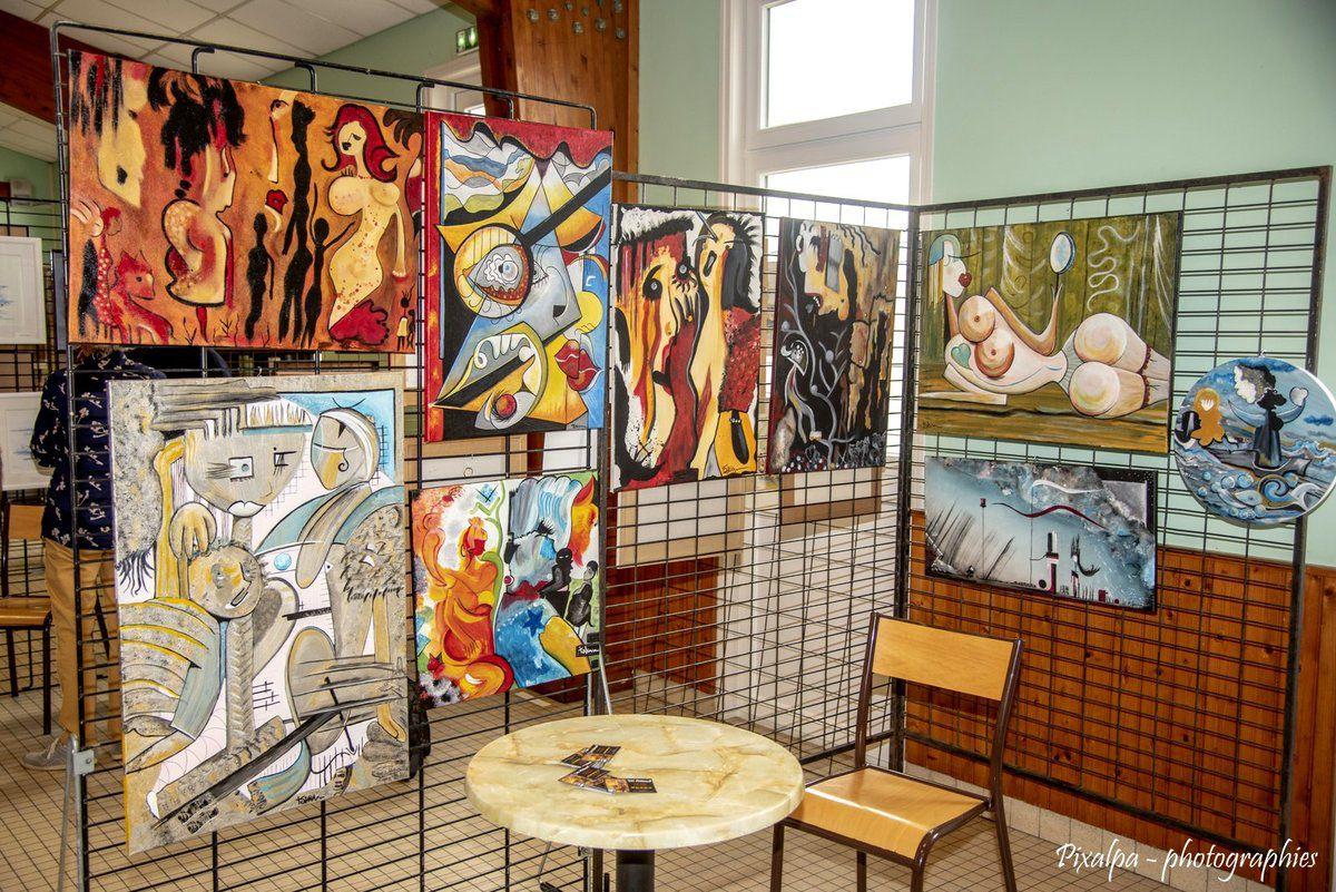 """Exposition 2019 """"les mille couleurs"""" à St Pierre d'Exideuil ..."""