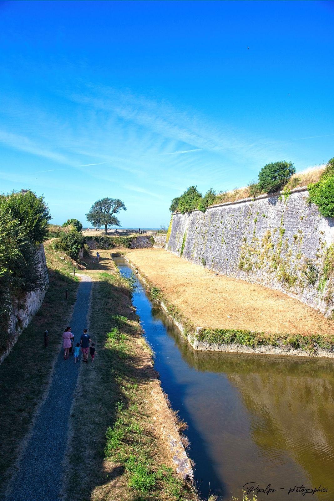 Ile d'Oléron, été 2020, le Chateau et sa citadelle...
