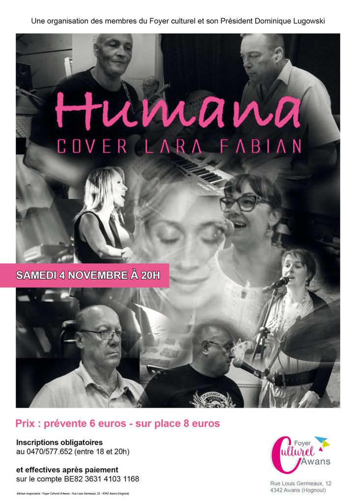 HUMANAN COVER LARA FABIAN