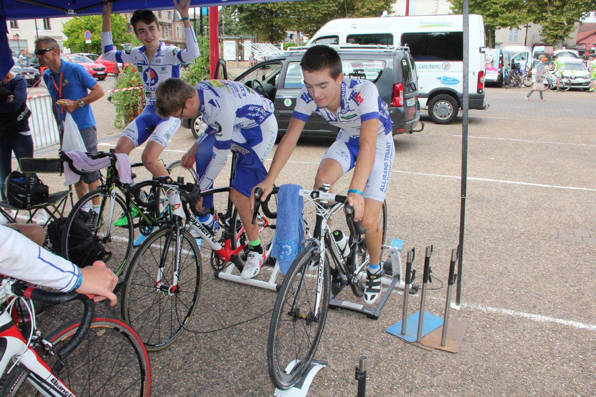 Journal du Tour de l'Ain cadets des jeunes de l'ECBB !